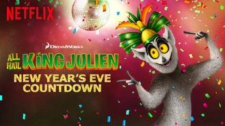 Netflix box art for All Hail King Julien: New Year's Eve...